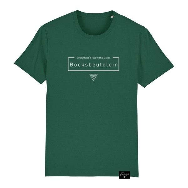 Bocksbeutel Bocksbeutelein Franken Sprüche T-Shirt Herren
