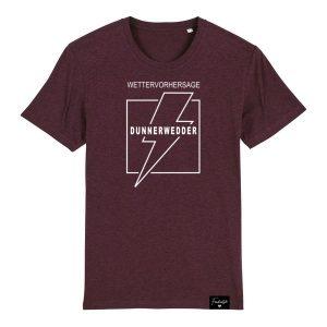 Dunnerwedder Donnerwetter Franken Sprüche T-Shirt Herren