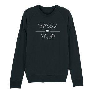 Bassd Scho Franken Sprüche Pullover Herren