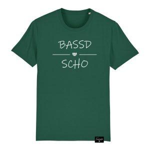 Bassd Scho Franken Sprüche T-Shirt Herren