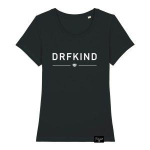 DRFKND Dorfkind Franken Sprüche T-Shirt Damen