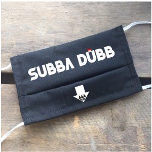 Gesichtsmaske Subba Dübb, Maske Subber Dübb