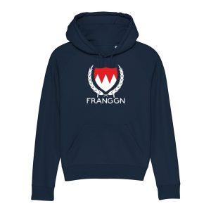 Franken Hoodie, Franken Wappen Hoodie, Franken Flagge Hoodie