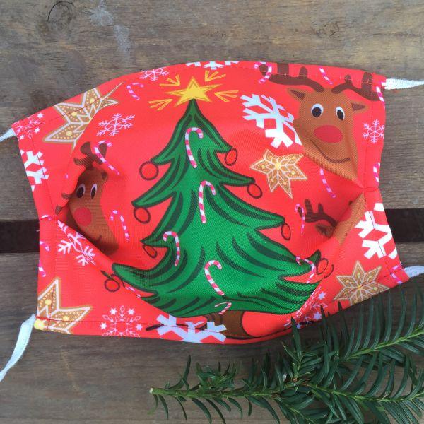 Ugly Christmas Maske, Ugly Christmas Mask, Ugly Christmas Gesichtsmaske