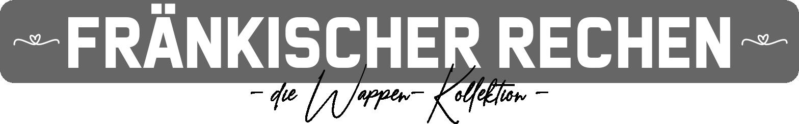 Franken Rechen Kollektion, Frankenrechen, Fränkisches Wappen, Frankenrechen, Fränkische Flagge