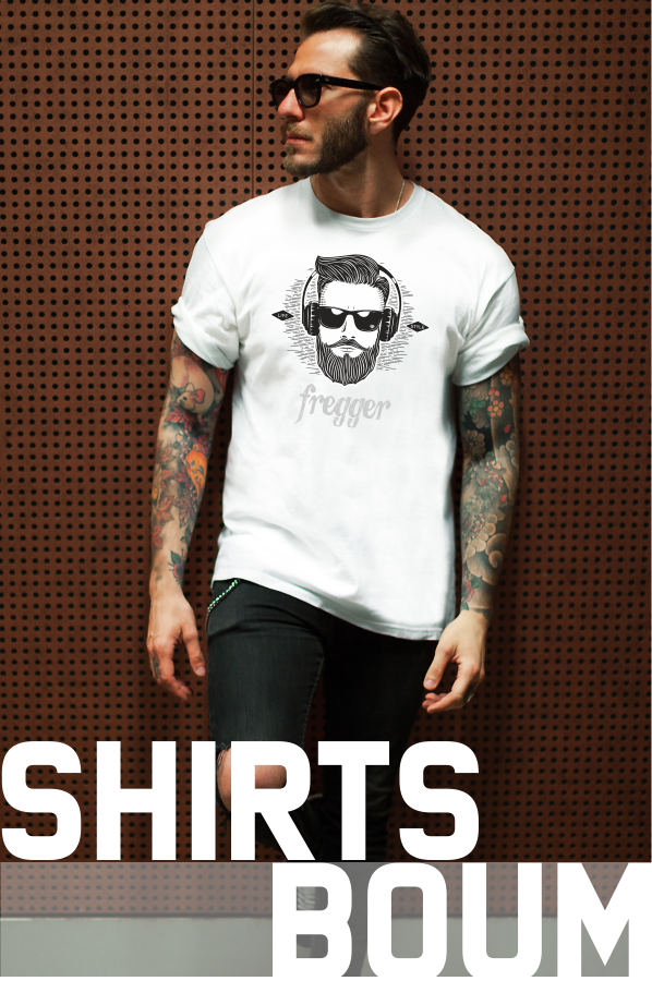 T-Shirts Boum, Frankenstyle