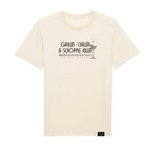 Grillen Chillen Schöpple killen T-Shirt
