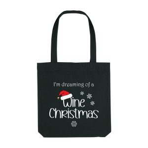 Stofftasche Wine Christmas
